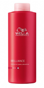 Wella Brilliance Shampoo Thick/Coarse 1ltr